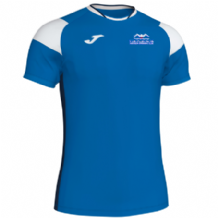 Templemore Swimming Club Joma Crew III S/S Shirt Royal/White/Navy Adults 2019